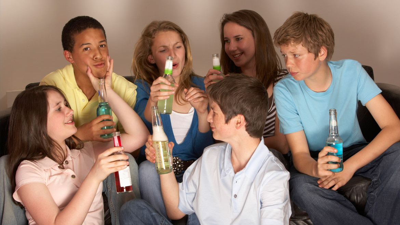 Under-Age Alcohol Addiction